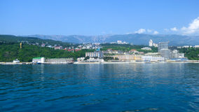 克里米亚的海岸 免版税库存照片