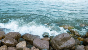克里米亚的海岸 图库摄影