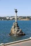 克里米亚纪念碑塞瓦斯托波尔战争 免版税图库摄影