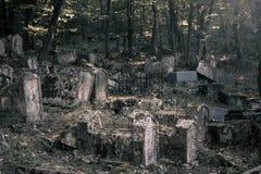克里米亚-公墓Karaites 2 免版税库存照片