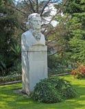 克里米亚 对植物学家Christiaan Stewen的纪念碑(1781-1863) 免版税库存图片