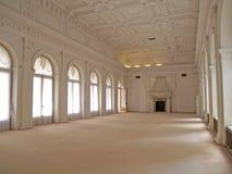 克里米亚 聪明的大厅在大Livadiysky宫殿 免版税库存图片