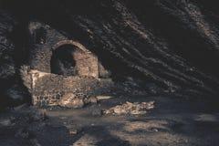 克里米亚-洞穴 免版税图库摄影