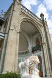 克里米亚vorontsovsky宫殿的半岛 库存照片