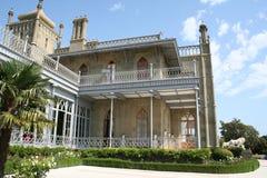 克里米亚vorontsovsky宫殿的半岛 库存图片