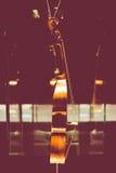 克雷莫纳,意大利2014年11月14日:博物馆小提琴, Stradivari v 图库摄影