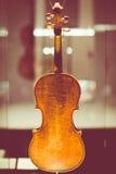 克雷莫纳,意大利2014年11月14日:博物馆小提琴, Stradivari v 免版税库存图片
