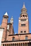 克雷莫纳-克雷莫纳-意大利- 019的大教堂 免版税库存图片