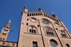 克雷莫纳-克雷莫纳-意大利- 015的大教堂 免版税库存图片