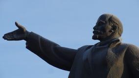 克麦罗沃市 列宁 库存照片
