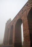 克维曾镇和城堡 免版税库存照片