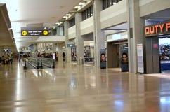 免税特拉维夫的机场 免版税库存照片