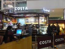 免税迪拜在国际机场 库存图片