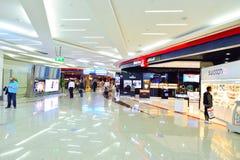 免税迪拜的内部 免版税库存照片
