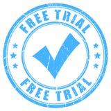 免费试用传染媒介不加考虑表赞同的人 库存例证