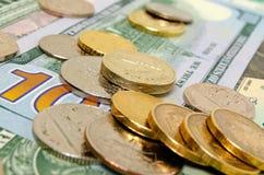 兑换汇率 免版税库存照片