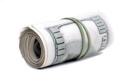 兑现代表财富财宝和Inves的金钱美国美元 图库摄影