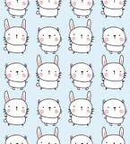 兔子和bunyn样式 库存图片