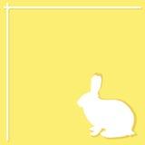 兔子样式 皇族释放例证