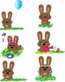 兔子的假日 免版税库存照片