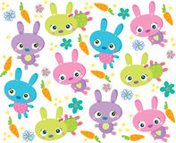 兔子纹理 免版税库存照片