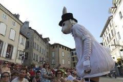 兔子街道白色 免版税库存图片
