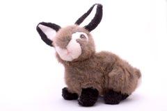 兔子被充塞的玩具 免版税库存图片