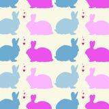 兔子设计样式 向量例证