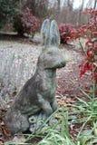 兔子雕象 库存照片