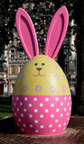 兔子鸡蛋 免版税库存照片