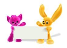 兔宝宝剪报包括全部赌注路径符号 免版税图库摄影