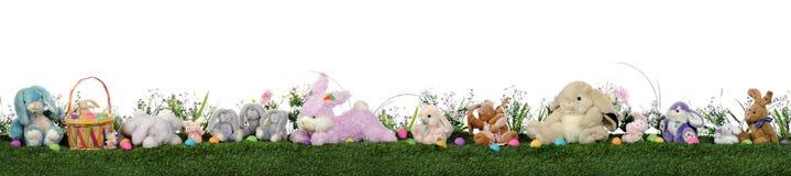 兔宝宝复活节主街上 免版税库存图片