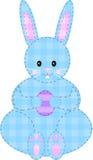兔宝宝复活节补缀品 免版税库存照片