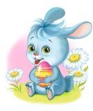 兔宝宝复活节彩蛋 皇族释放例证