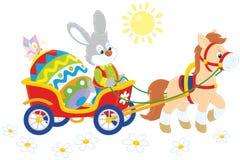 兔宝宝复活节 免版税图库摄影