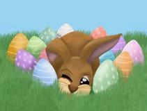 兔宝宝复活节 皇族释放例证