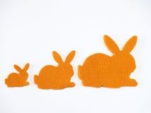 兔宝宝形状 免版税库存照片