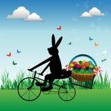 兔宝宝愉快的复活节 库存图片