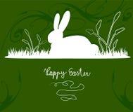 兔宝宝愉快的复活节 免版税图库摄影