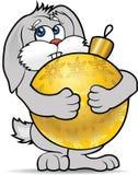 兔宝宝新的s年 免版税库存图片