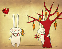 兔宝宝日期 库存图片