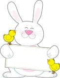 兔宝宝标志 图库摄影