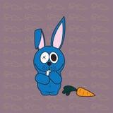 滑稽的兔宝宝。 免版税库存图片