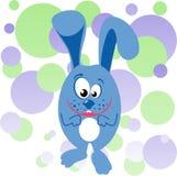 兔宝宝滑稽的例证 免版税库存照片