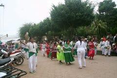 党在特立尼达 玻利维亚,南美 免版税库存照片