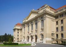 入口主要大学 免版税库存照片