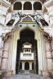 入口全部印第安宫殿 库存图片