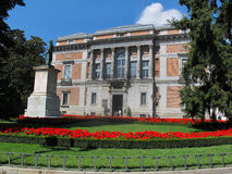 入口南部博物馆的prado 免版税库存图片