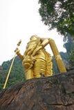 入口向有Murugan雕象的黑风洞 库存图片