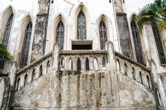 入口在基督徒修道院里 免版税图库摄影